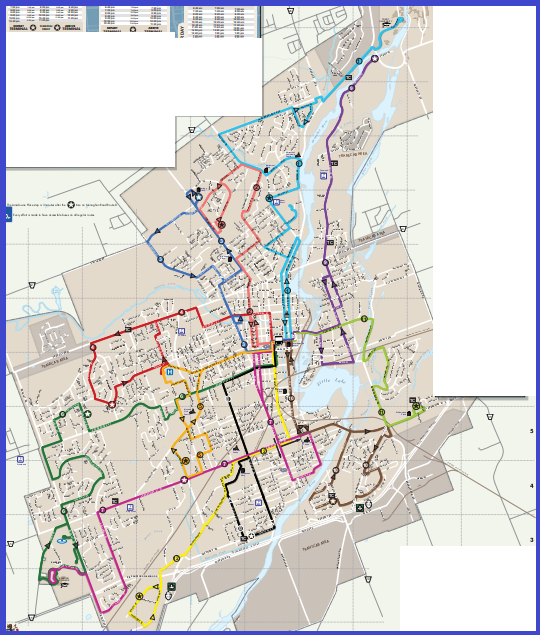 Peterborough Transit Map By GO Transit to Barrie for the day (home) After, Alert, Allendale